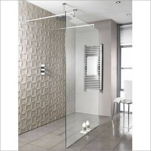 Playtime 900mm Walk-Through Shower with Wall Support