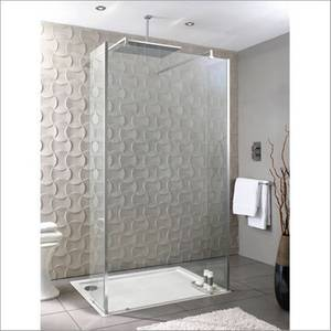 Playtime 900mm Walk-Through Shower with Side Screen