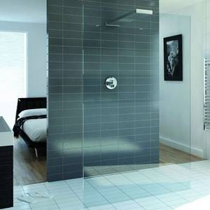 Playtime 900mm Walk-Through Shower with Integrated Shower Head