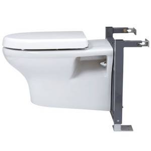 Wall Hung Toilet S-Frame including Top Access Dual Flush Cistern