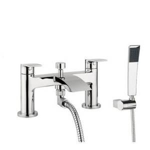 Flow Deck Mounted Shower Mixer Tap