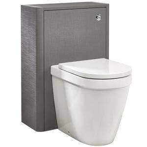 Linen Toilet Unit - Grey