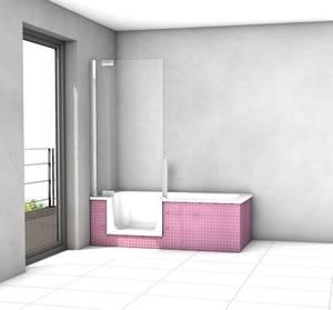 Harbour 750mm Tile Substrate End Bath Panel