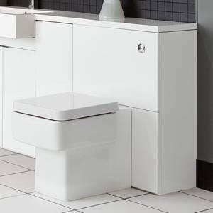 MyPlan 600mm Floorstanding Toilet Unit - Arctic White