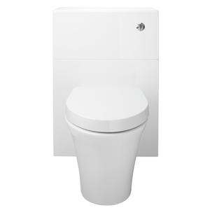 Vermont 600mm Toilet Unit - Gloss White