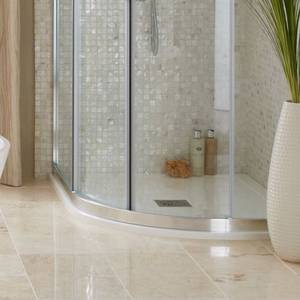 Everstone Offset Quadrant Right Hand Shower Tray 1200 x 800mm