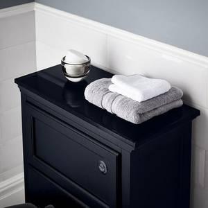 Savoy Navy Blue Toilet Worktop