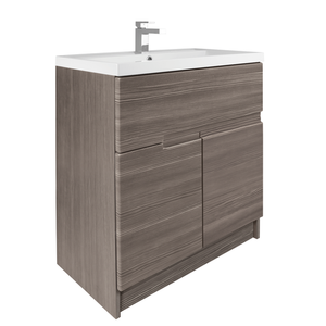 Vermont 800mm Floorstanding Vanity Unit - Grey Avola