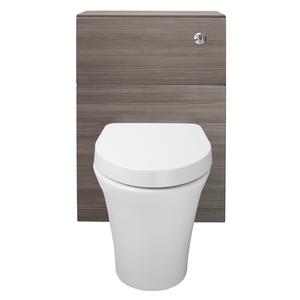 Vermont 600mm Toilet Unit - Grey Avola