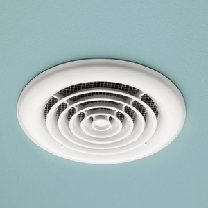 Rapide White Inline Ceiling Extractor Fan