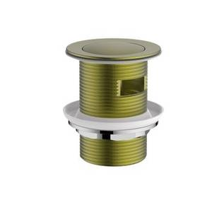 Aero Slotted Click Clack Bath Waste in Brushed Brass