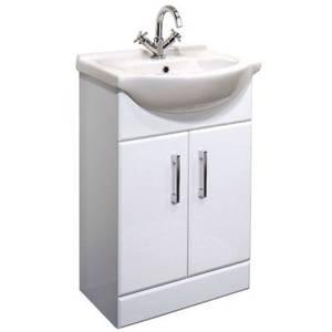 Match 550mm Basin & Floorstanding Vanity Unit