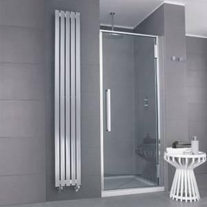 Glasshouse 900mm Hinged Shower Door