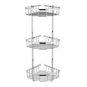 Wire triple Corner Basket