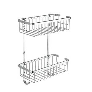 Wire Double Rectangle Basket