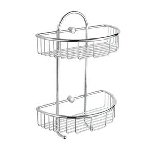 Wire Double Semi Circle Basket