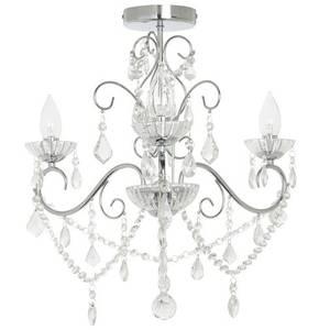 Savoy three light chandelier