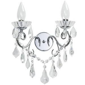 Savoy Two Light Wall Chandelier