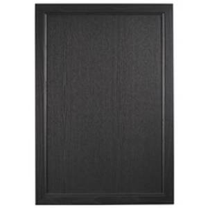 Portfolio Classic 800mm End Bath Panel Black