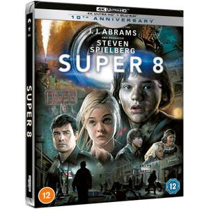 Super 8 10th Anniversary - Zavvi Exclusive 4K Ultra Steelbook (Includes Blu-ray)
