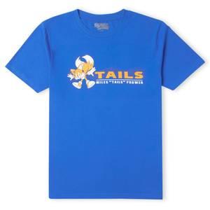 Sonic The Hedgehog Miles 'TAILS' Prower Men's T-Shirt - Royal Blue