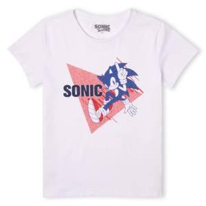 Sonic The Hedgehog Sonic  Men's T-Shirt - White