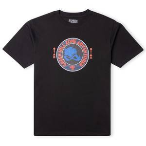 Sonic The Hedgehog Green Hill Zone Adventurer Oversized Heavyweight T-Shirt - Black