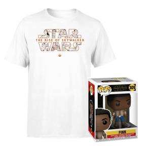 Lot Star Wars : Figurine Funko Pop! Finn & T-Shirt