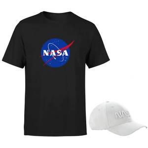 Lot NASA : Casquette Grise & T-Shirt
