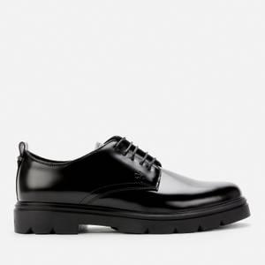 Calvin Klein Men's Leather Derby Shoes - Black