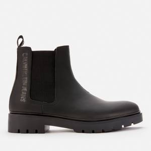 Calvin Klein Jeans Men's Combat Mid Chelsea Boots - Black