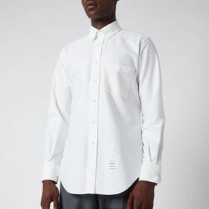 Thom Browne Men's Classic Oxford Shirt - White