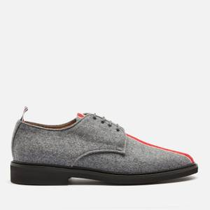 Thom Browne Men's Tricolour Stripe Uniform Shoes - Medium Grey