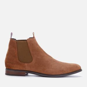 Tommy Hilfiger Men's Casual Suede Chelsea Boots - Timber