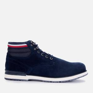 Tommy Hilfiger Men's Outdoor Suede Leather Lace Up Boots - Desert Sky