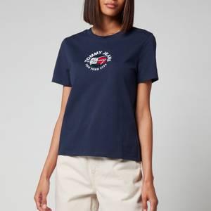 Tommy Jeans Women's Organic Timeless T-Shirt - Twilight Navy