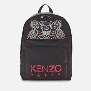 KENZO Men's Kampus Canvas Backpack - Black