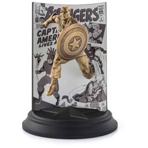Royal Selangor Limited Edition Gilt Captain America The Avengers #4 Statue