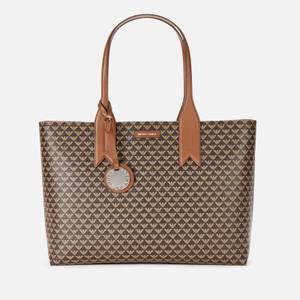 Emporio Armani Women's Frida Printed Shopper Bag - Brown