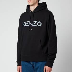 KENZO Men's Classic Logo Hoodie - Black