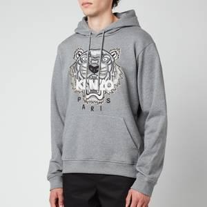 KENZO Men's Tiger Original Hoodie - Dove Grey