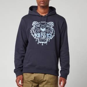 KENZO Men's Tiger Seasonal Hoodie - Blue Black