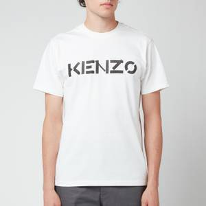 KENZO Men's Logo Classic T-Shirt - White