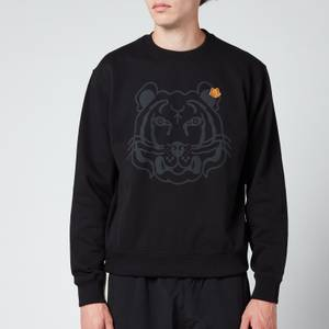 KENZO Men's K-Tiger Classic Sweatshirt - Black