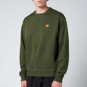 KENZO Men's Tiger Crest Classic Sweatshirt - Dark Khaki