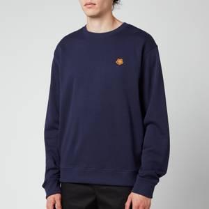 KENZO Men's Tiger Crest Classic Sweatshirt - Navy Blue