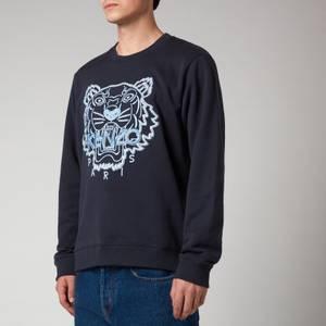 KENZO Men's Tiger Seasonal Sweatshirt - Blue
