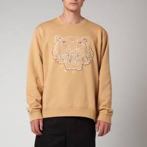 KENZO Men's Tiger Seasonal Sweatshirt - Dark Beige