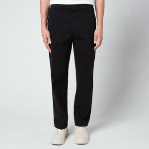 KENZO Men's Tapered Cropped Trousers - Black