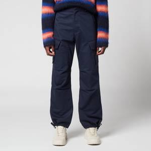 KENZO Men's Cargo Pants - Blue Black
